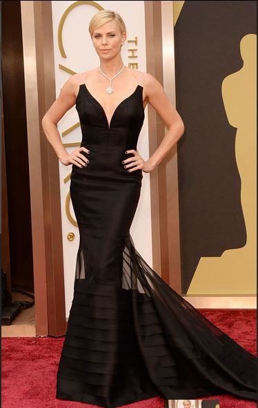 Charlize Theron, Oscar fashion