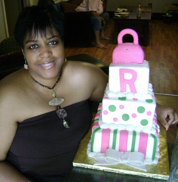 birthday, throw back Thursday, purse cake