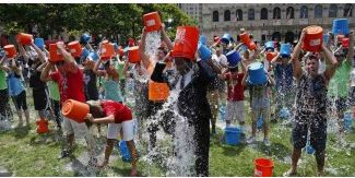 I'm over the ice bucket challenge, but $42 million raised is cool!
